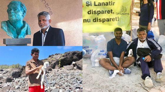 Shyamdass Pentayah :«J'ai toujours été en connexion avec la nature»