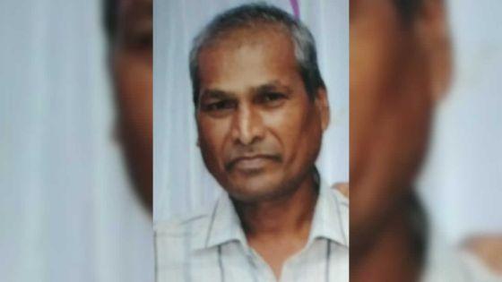 Avis de recherche :Raj Goburdhun est porté disparu depuis le 27 février