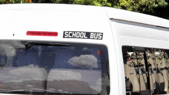 Dunputh Lallah SSS : pas de 'school bus' pour le trajet Curepipe/Mahébourg