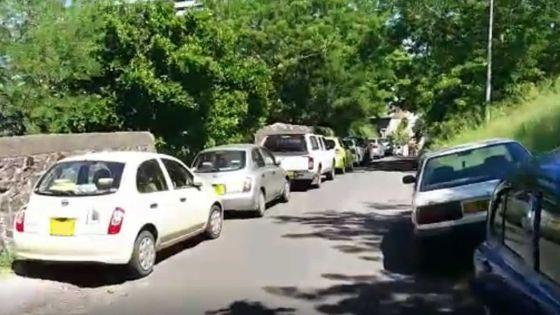 À Port-Louis -Alentours de la Citadelle: entre stationnement illégal et abandon