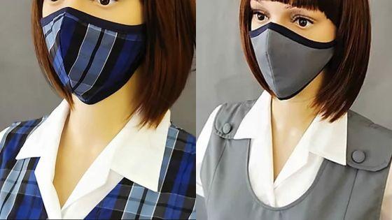 Uniforme scolaire : des masques assortis font leur rentrée !