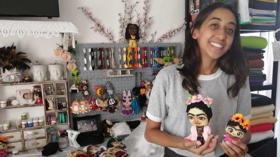 Tendances :Sabrina Thiery réalisedes poupées à votre image
