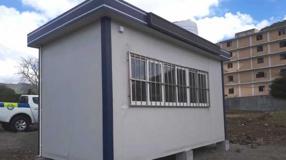 Un mini-poste de police installé à Résidence La Cure