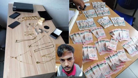 En moins de 24 heures, les policiers de Vacoas bouclent une enquête : un technicien de 19 ans coffrépour vol à hauteur de Rs 250, 000