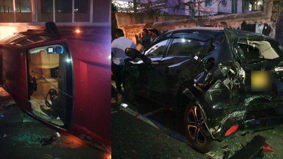 Accident à Port-Louis