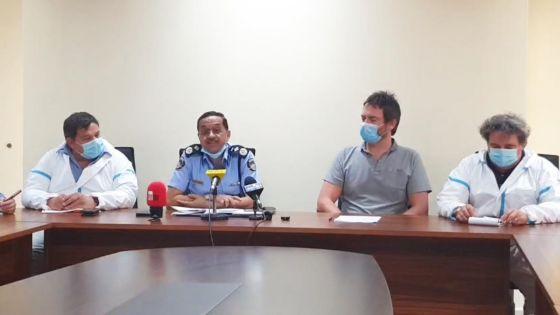 Wakashio : suivez en direct la conférence de presse du CP Khemraj Servansing