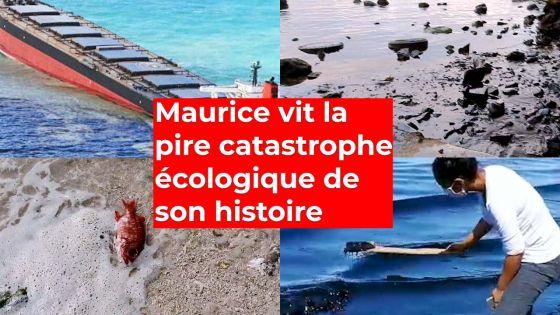 Maurice vit la pire catastrophe écologique de son histoire