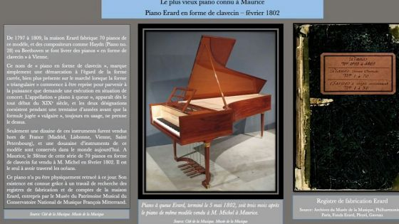 Journée internationale des musées : le Conservatoire François Mitterrand présente une série d'activités sur sa page Facebook