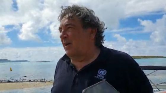Marée noire : Des experts de l'ONU sur le lagon pour un constat