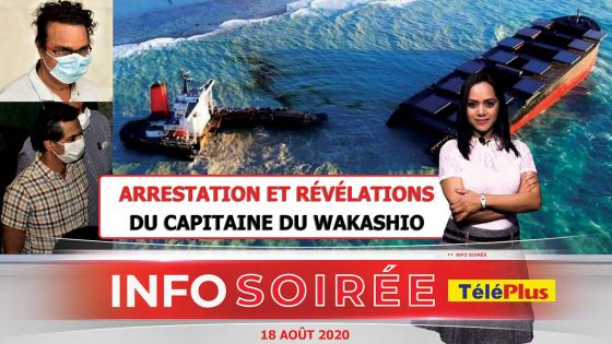 [Info Soirée] Le capitaine du Wakashio : «8 fwa noune rant dan dilo Moris san gagne problem»