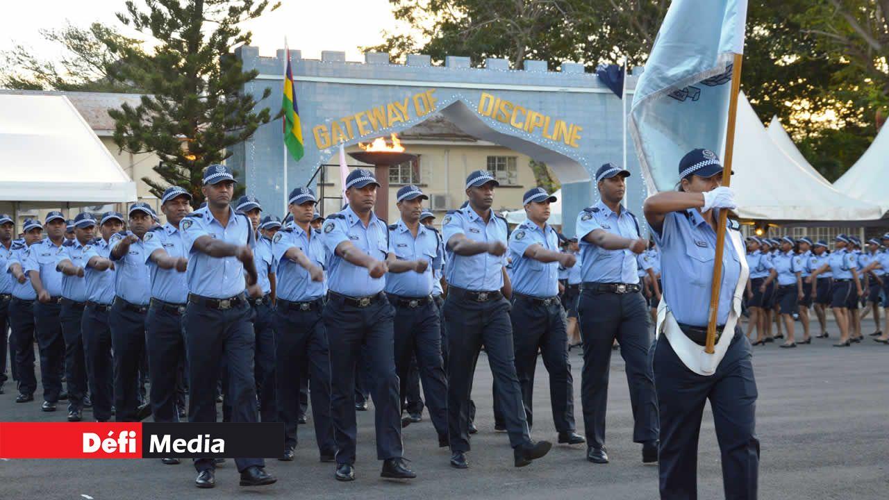 Parade des policiers
