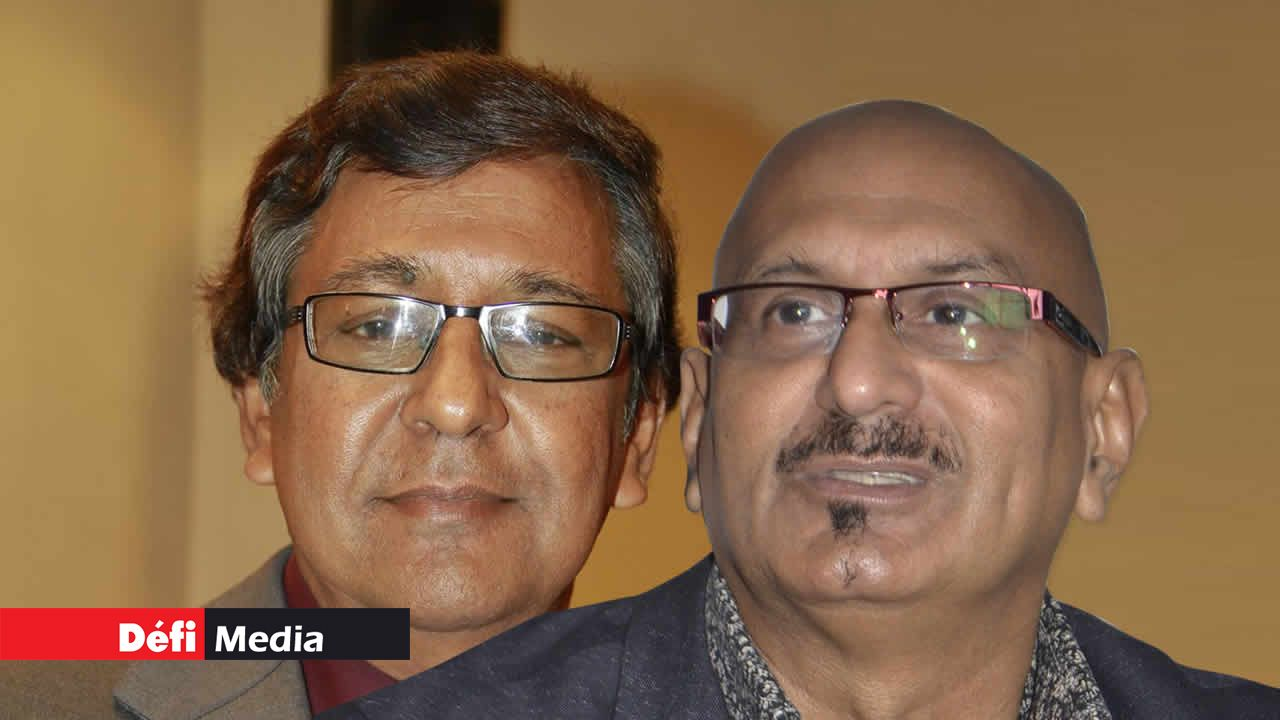 Raffick Sorefan et Bashir Jahangeer