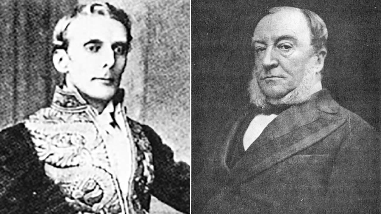 John Pope Hennessy et William Newton